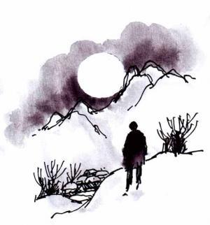 [아침을 여는 시] 달의 착시