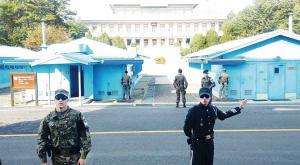 5㎝ 장벽 '널문리' 판문점서 '평화의 회담' 준비 착착