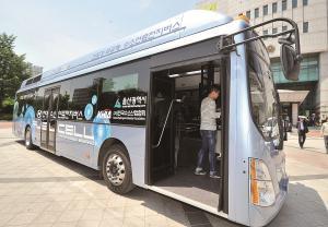 '수소전기버스' 5월부터 울산 시내버스 노선 달린다