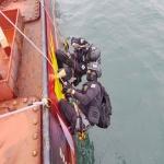 남해해경청, 울산서 선박좌초·기름유출사고 대응 합동훈련