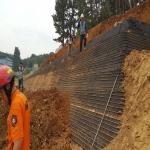 울산 길천산업단지 옹벽 설치 작업 중 토사 무너져 1명 사망·2명 부상