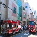 울산 남구 병원 화재…환자·의료진 70여명 대피 인명피해 없어