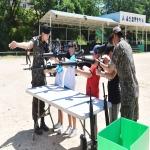 울산 옥동 군부대 부대개방행사 참여한 남산초 학생들