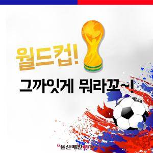 <font color='#0000ff'>[카드뉴스] 월드컵! 그까잇게 뭐라꼬~ 그냥 즐기자!</font>
